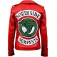 Southside Serpents Cheryl Blossom Red Leather Jacket