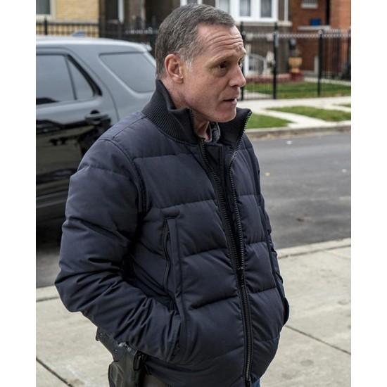 Chicago PD S07 Jason Beghe Black Jacket