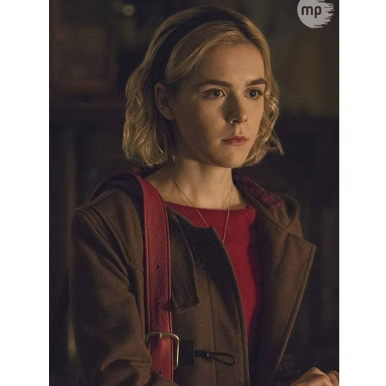 Chilling Adventures of Sabrina Brown Hooded Coat