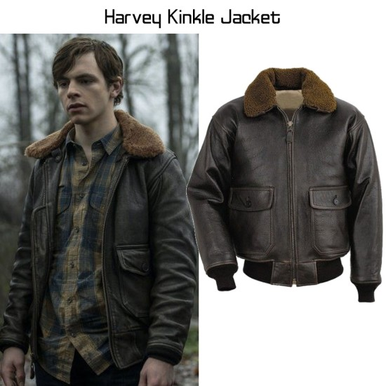 Chilling Adventures of Sabrina Ross Lynch Brown Leather Jacket