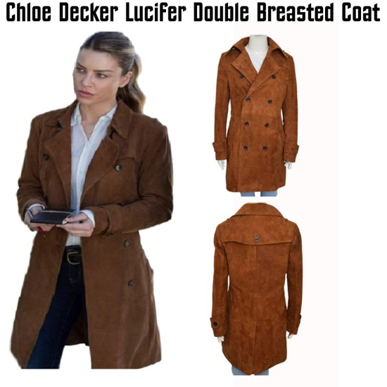 Lucifer TV Series Chloe Decker Coat