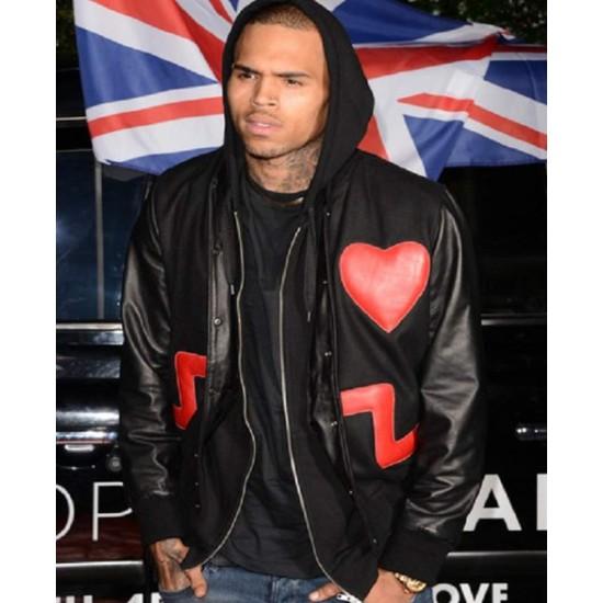 Chris Brown Valentine's Jacket