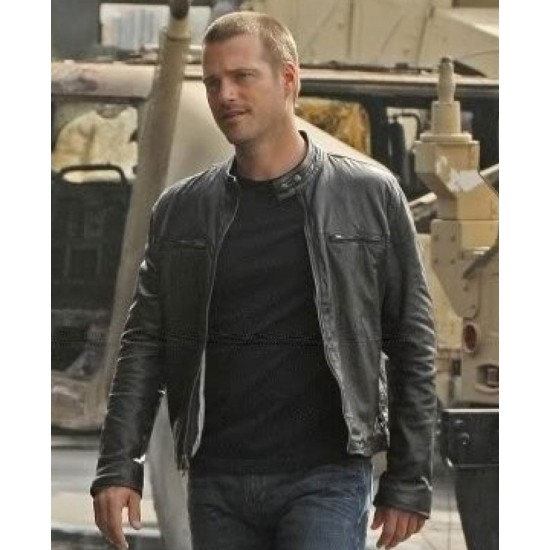 G Callen NCIS Los Angeles Chris O'Donnell Leather Jacket