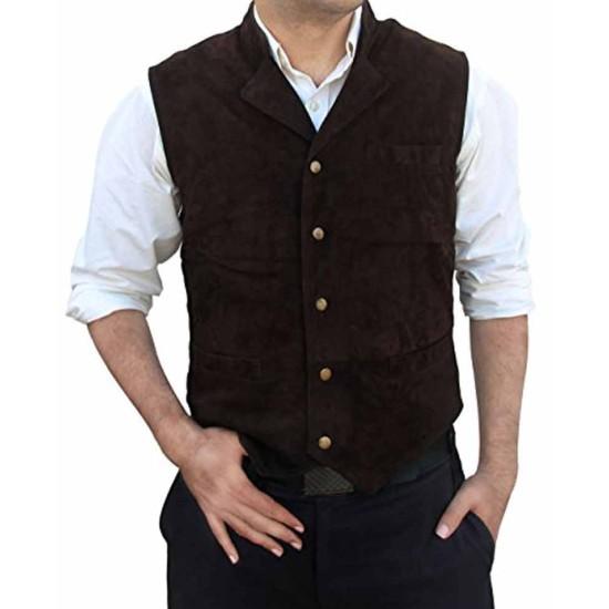 Chris Pratt The Magnificent Seven Brown Vest