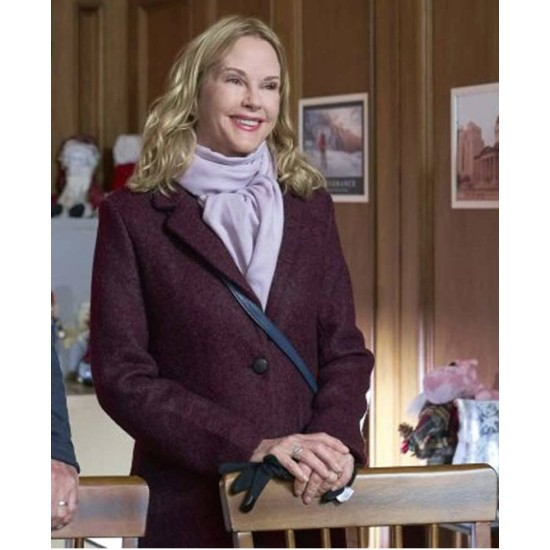 Christmas by Starlight Rebecca Staab Wool Coat
