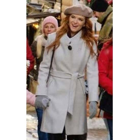 Christmas in Vienna Sarah Drew White Coat