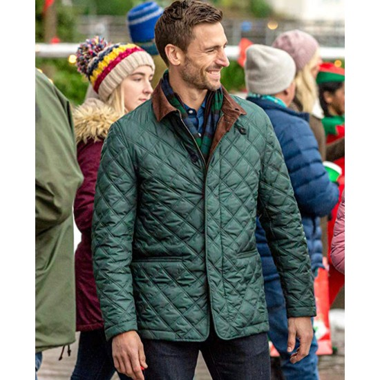 Christmas on My Mind Andrew W. Walker Quilted Jacket