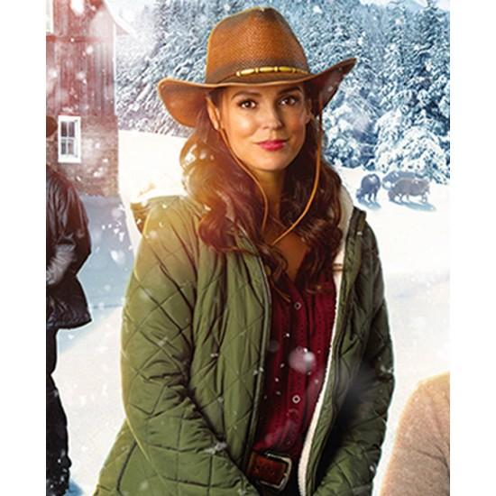 Erin Cahill Christmas on the Range Hooded Jacket