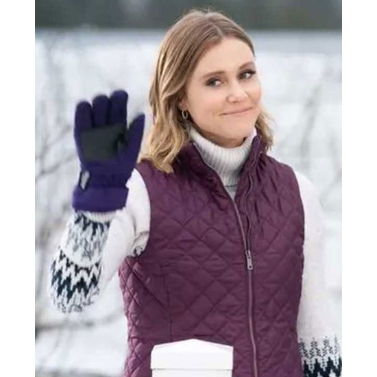 Christmas on The Vine Julianna Guill Quilted Vest