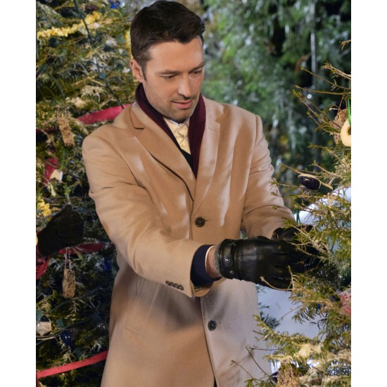 Carlo Marks Christmas with the Darlings Brown Coat