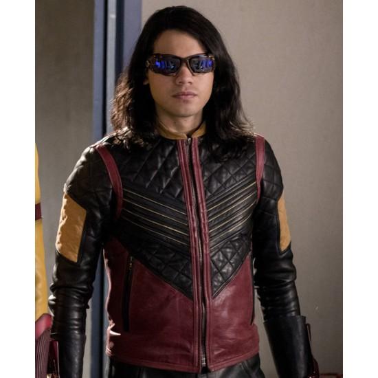 Vibe The Flash Cisco Ramon Leather Jacket