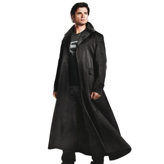 Superman Smallville Clark Kent Trench Coat