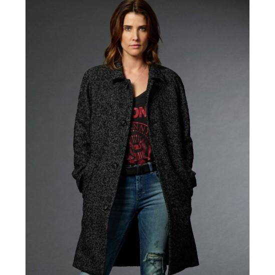 Cobie Smulders Stumptown Grey Coat