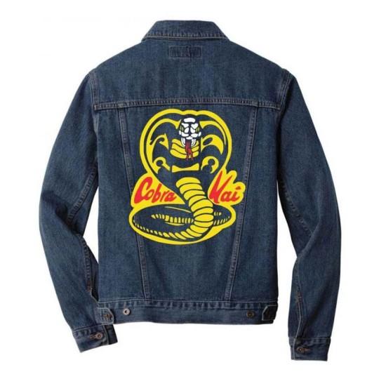 Cobra Kai Denim Blue Jacket for Men