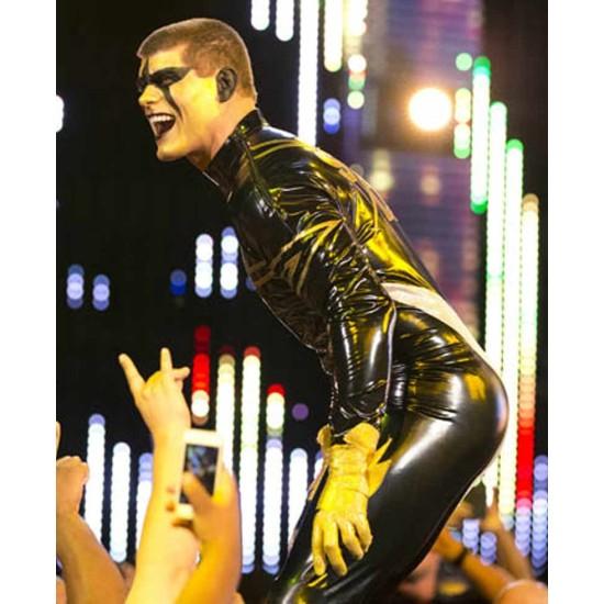 Star Dust Cody Rhodes Leather Jacket