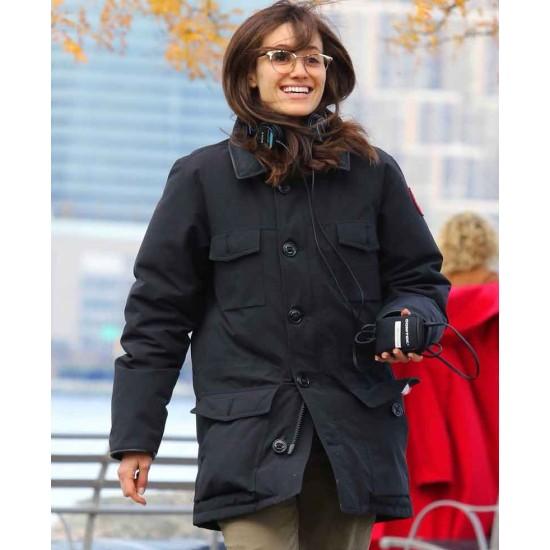 Cold Pursuit Emmy Rossum Coat