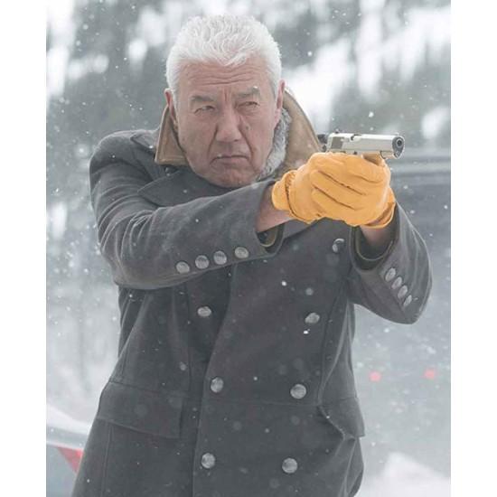 Cold Pursuit Tom Jackson Trench Coat