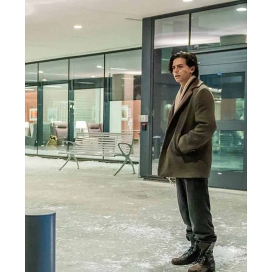 Cole Sprouse Five Feet Apart Wool Coat