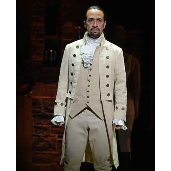 Alexander Hamilton Colonial White Coat