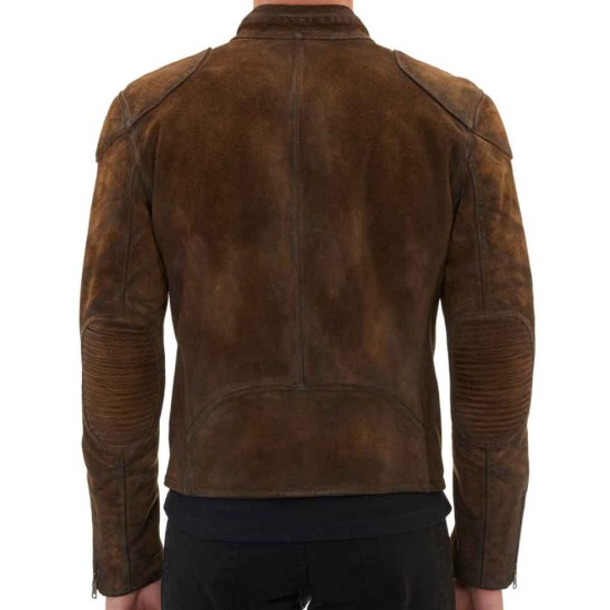Colton Haynes Arrow Season 3 Cafe Racer Jacket