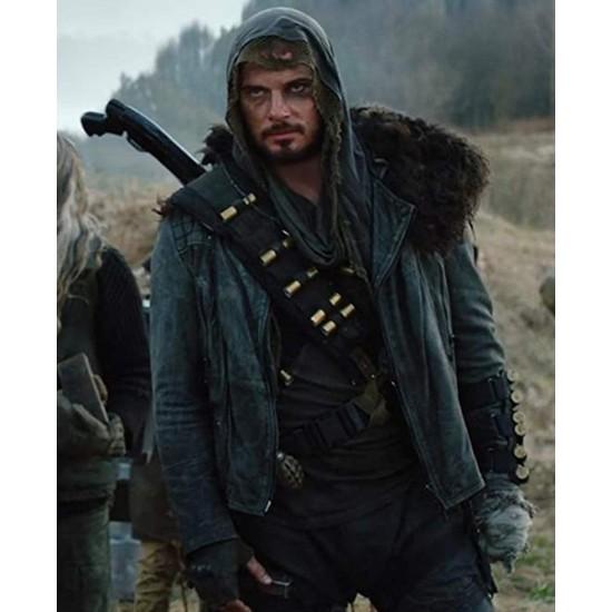 Anton Pampushnyy Coma Black Leather Jacket