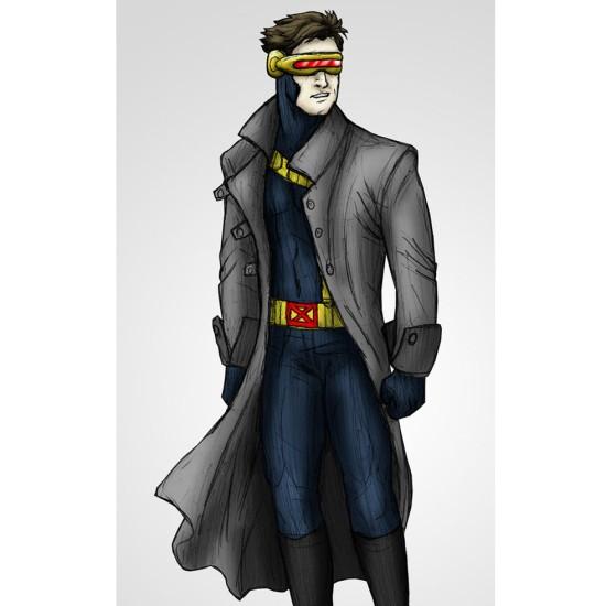 Cyclops Leather Coat