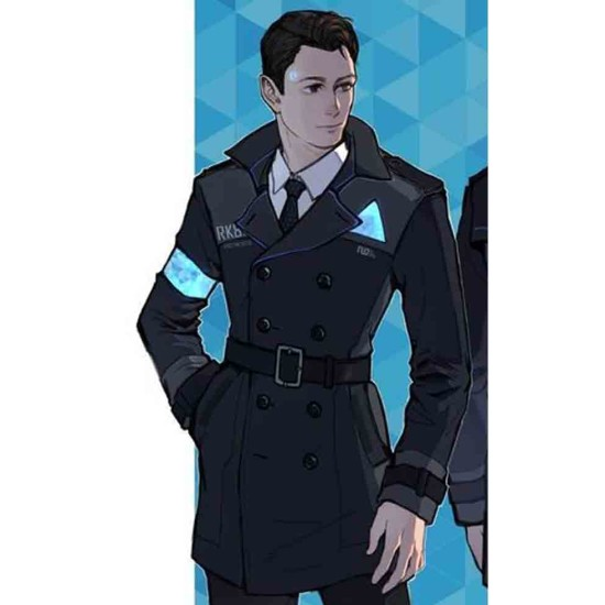 Connor DBH Double Breasted Coat