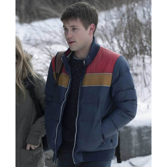 Connor Jessup Locke & Key Blue Jacket