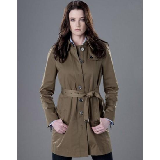 Continuum Rachel Nichols Belted Coat