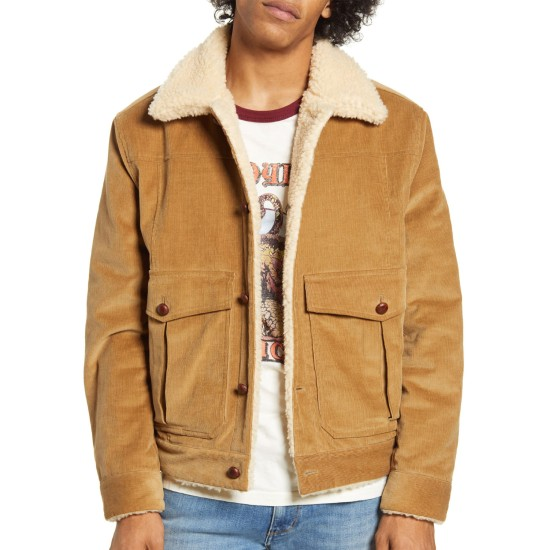 Bob Dylan Rolling Thunder Shearling Corduroy Jacket