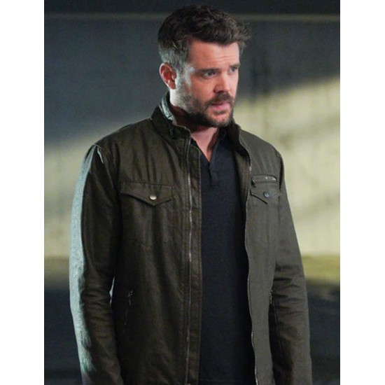 Charlie Weber How To Get Away With Murder Green Jacket