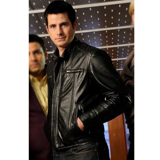 Craig Anthony Olejnik The Listener Toby Logan Leather Jacket