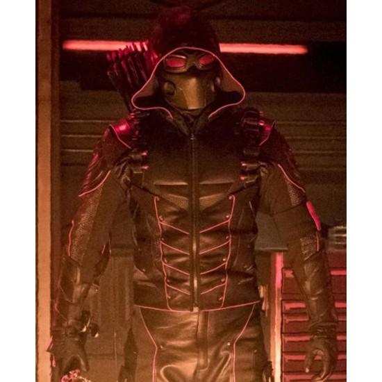 Stephen Amell Crisis on Earth-X Arrow Hoodie