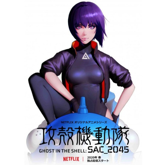 Ghost in The Shell Sac 2045 Cropped Jacket