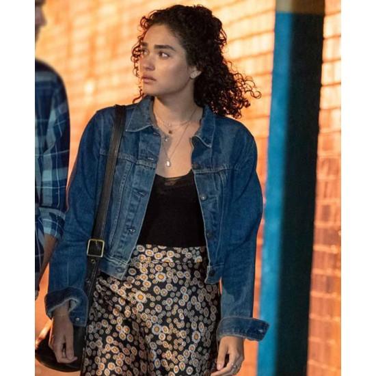 Brittany O'Grady Little Voice Denim Cropped Jacket