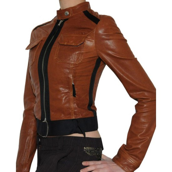 CSI Catherine Willows Leather Jacket