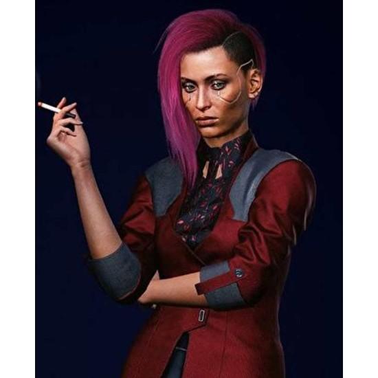 Female V Cyberpunk 2077 Red Blazer