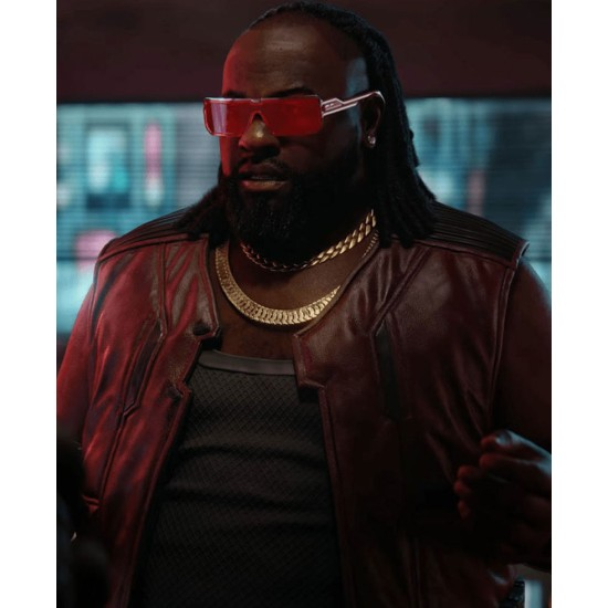 Cyberpunk 2077 Game 2020 Dexter Deshawn Leather Vest