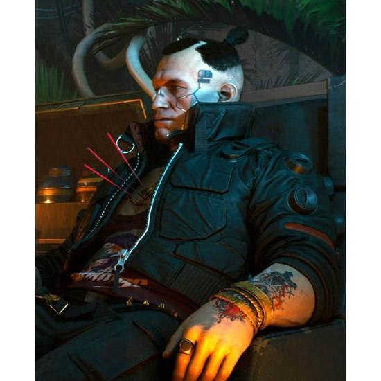Cyberpunk 2077 Jackie Welles Parachute Jacket