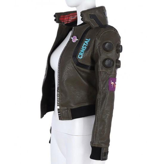 Cyberpunk Jaina Bomber Jacket