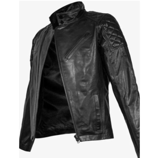 Cyberpunk 2077 Keanu Reeves Diamond Dogs Leather Jacket