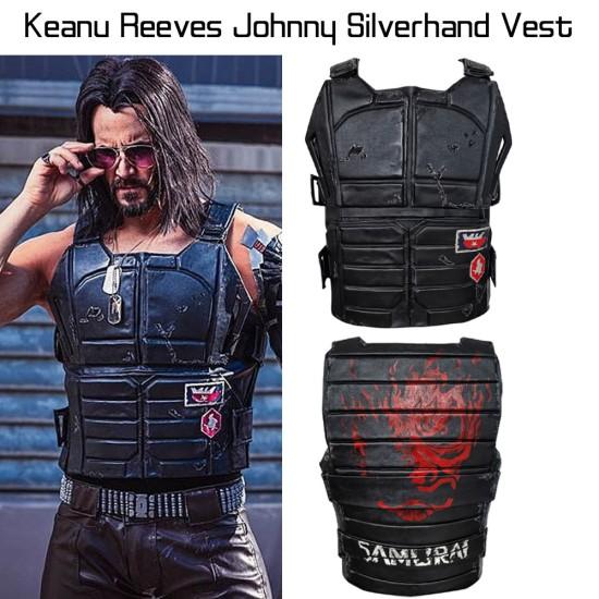 Cyberpunk 2077 Keanu Reeves Tactical Vest
