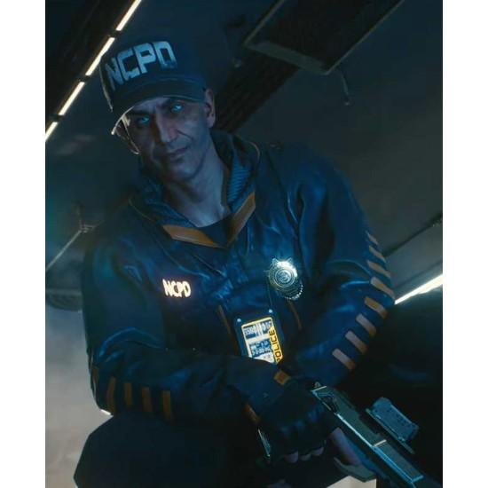 Cyberpunk 2077 Stints Black Leather Jacket