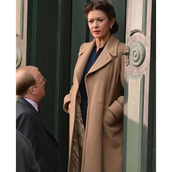 Dad's Army Catherine Zeta Jones Trench Coat
