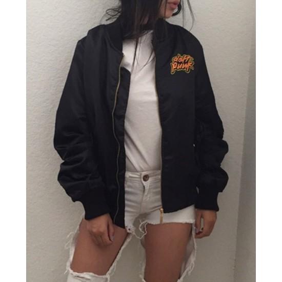 Daft Punk Satin Jacket