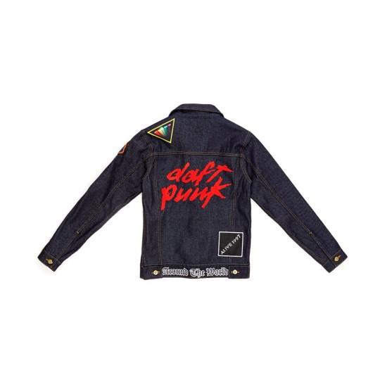 Daft Punk Blue Denim Jacket