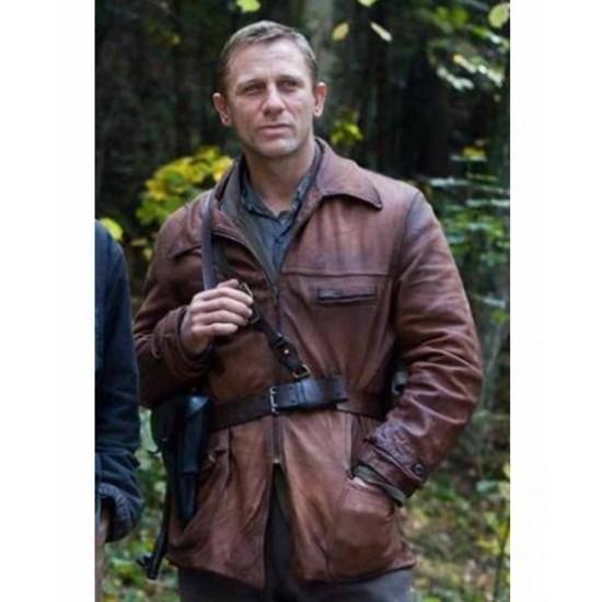Daniel Craig Defiance Tuvia Bielski Leather Jacket