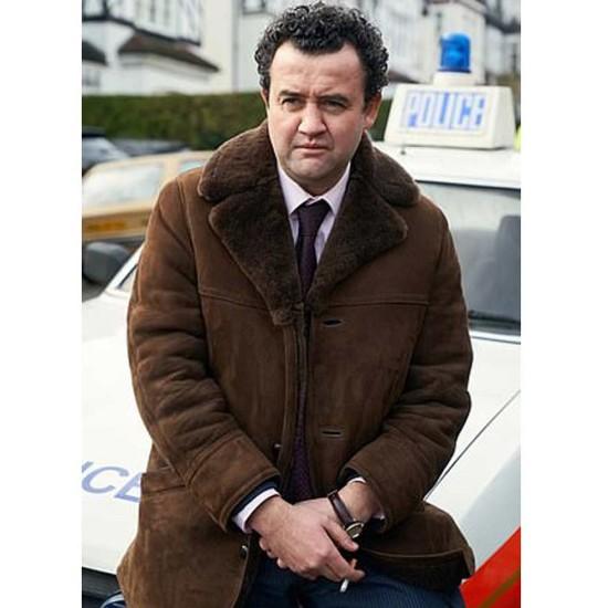 Daniel Mays Des Suede Leather Coat