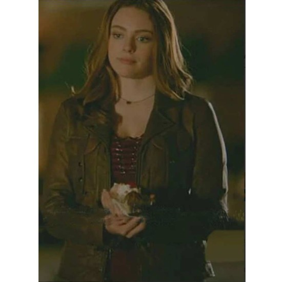 Danielle Rose Russell The Originals Leather Jacket