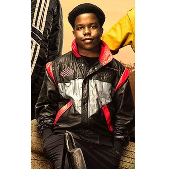 Darius Amarfio Jefferson Go Black Bomber Jacket